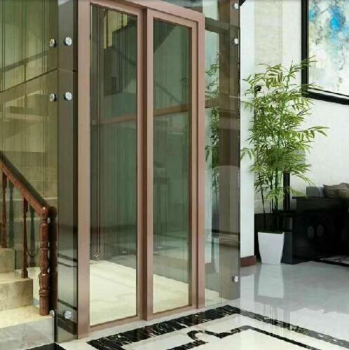 室内室外观光无机房别墅电梯