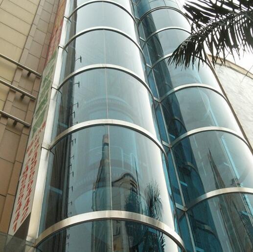 高层液压式观光电梯