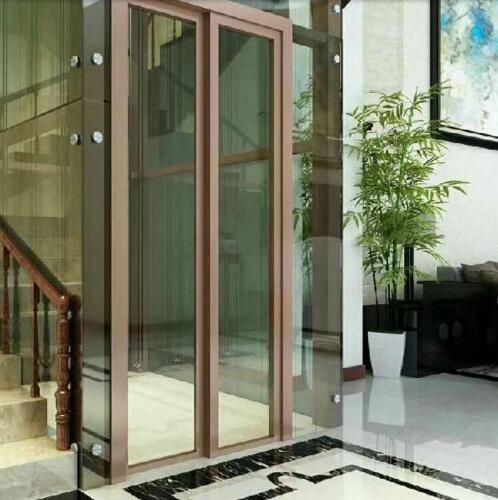 桐乡室内室外观光无机房别墅电梯