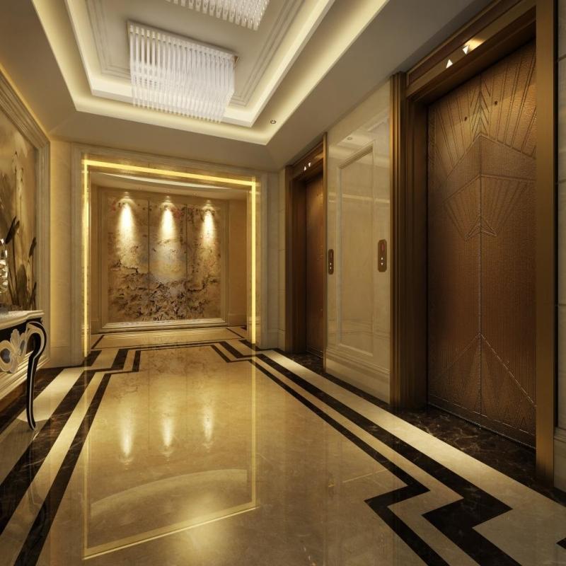 乘客电梯电梯拽引式