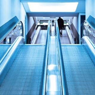 集选控制超市电梯自动人行道